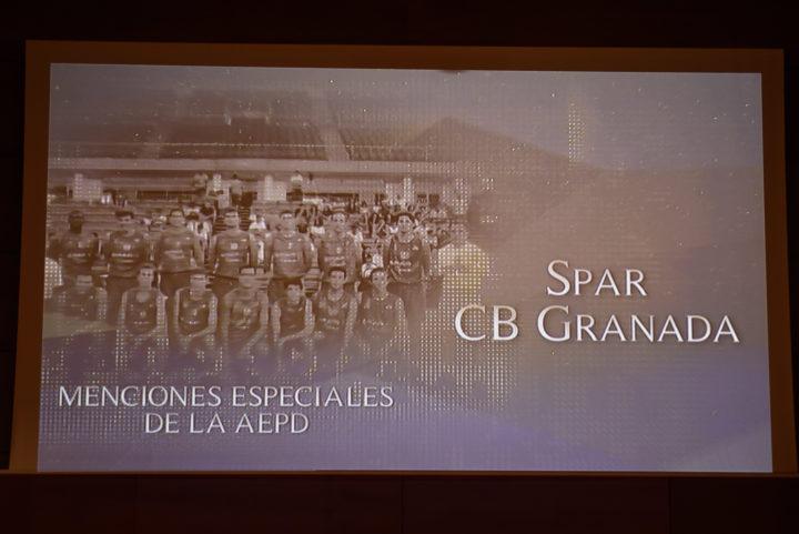 Mención Especial al Spar CB Granada