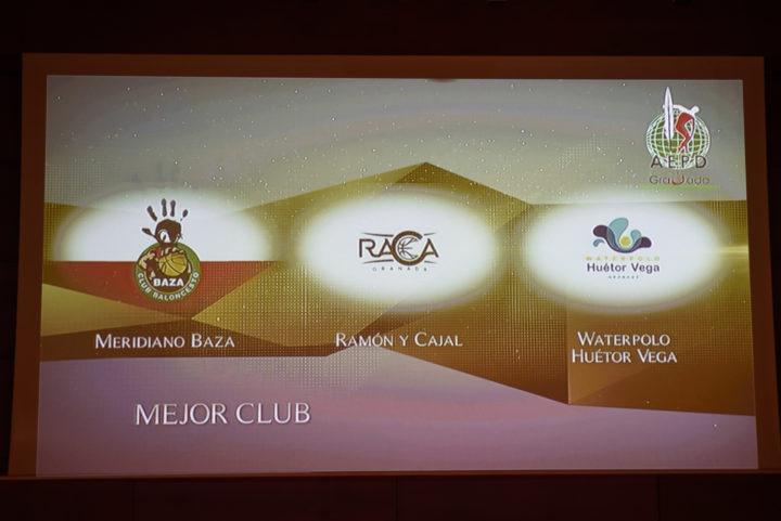 Terna candidata al Mejor Club
