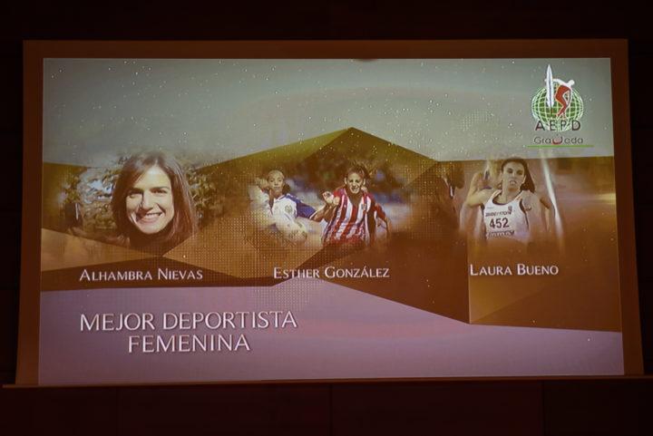 Terna a la Mejor Deportista Femenina