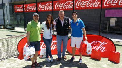 Javier Aguilera y Eva Castillo, segundos, junto a Helga García y Juan Carlos Rodríguez
