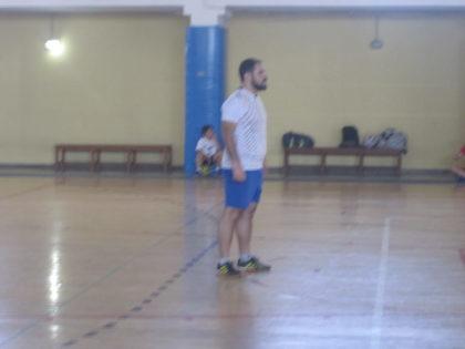 Jero, portero de Granada Hoy, atento a la jugada
