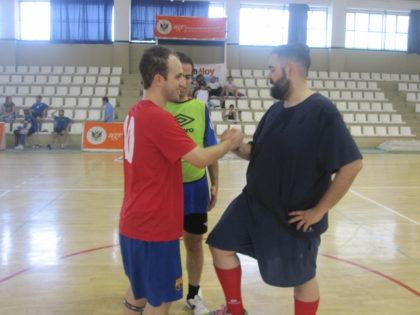 Miguel López y Fran Viñuela, el primer pulso