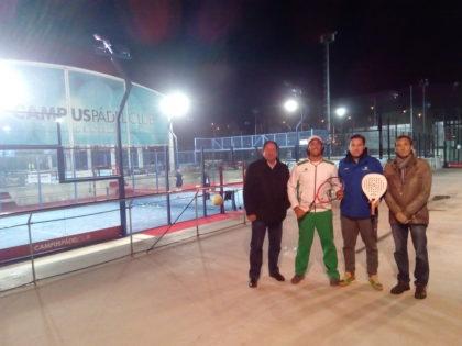 Convenio con el Campus Club de tenis y pádel