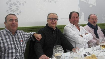 Quílez, Baena, Rodríguez y Paredes