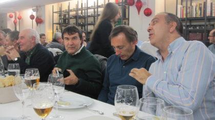 Ismael Abad, Víctor Romero y Pedro Lara