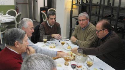 Nicasio García, Pedro Feixas, Julio Piñero, Juan Manuel de Haro y Paco Anguita