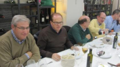 Juan Manuel de Haro, Paco Anguita, Roberto Martín y José Velasco