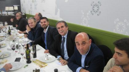Justo Ruiz, Rafael Lamelas, Julio García y Gerardo Morales