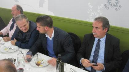 Eduardo Paredes, Justo Ruiz, Rafael Lamelas y Julio García