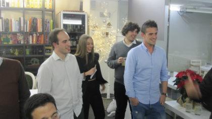 Miguel López, Noelia Gómez, Angel Orte y Enrique  Abuín
