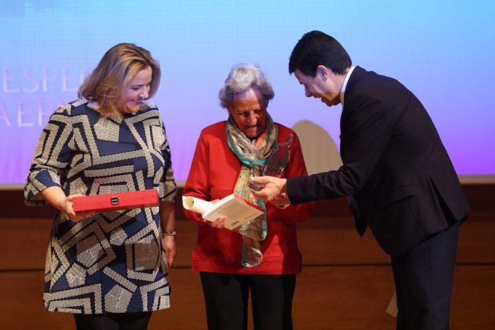 Pilar Moleón, la más veterana del Gran Premio de Fondo