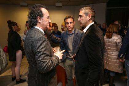 Julián Redondo con los representante de AFE