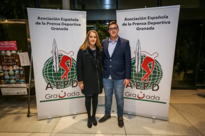 La hermana y el sobrino de Fernando Aguilera