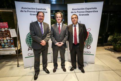 Antonio Rodríguez, Julián Redondo y Pablo Quílez