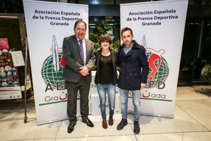 Antonio Rodríguez, María Pérez y Jacinto Garzón