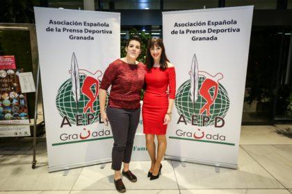 Eva Castilo y María Sánchez