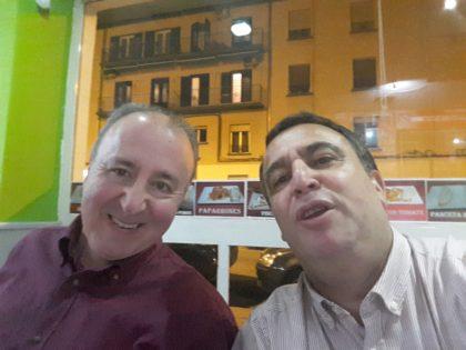 Paco Castillo y Pablo Quílez