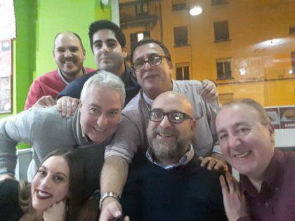 De arriba abajo y de izquierda a derecha: Bujalance, Medina, Feixas, Quílez, Noelia, Morales y Castillo