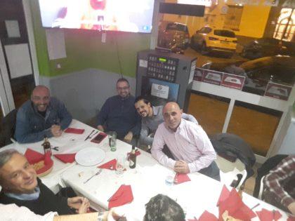 Ernesto Martínez, Javier Palma, Josema Goméz, David Sánchez y Gerardo Morales
