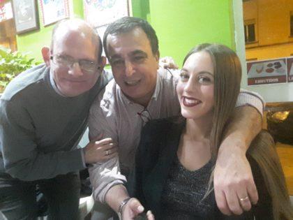 José Velasco y Noelia Gómez. El nombre del Quílez-Selfie ya no lo ponemos más