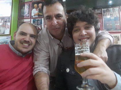 Ramón Bujalance y Enrique Abuín