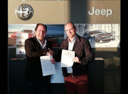 Acuerdo de colaboración de la AEPD Granada con Mica Motor y MotorDos