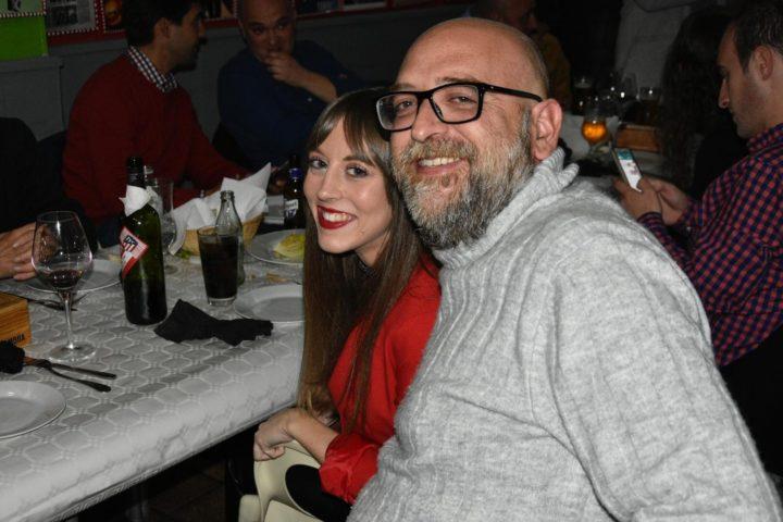 Noelia Gómez y Alejandro Morales, dos adictos a los paparrones