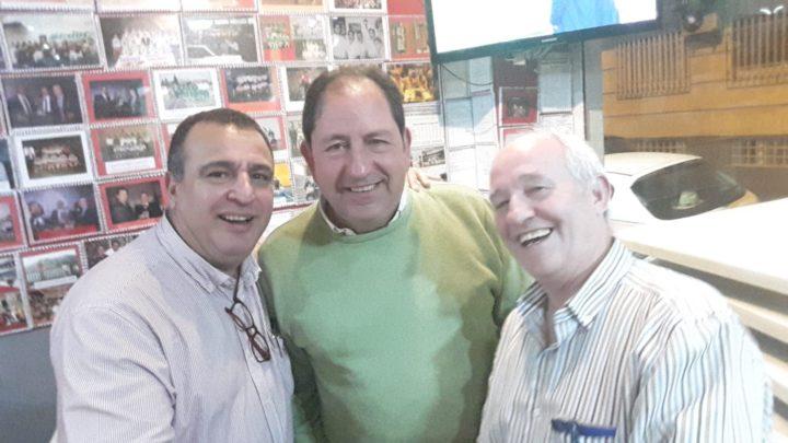 Pablo Quílez, Antonio Rodríguez y Manuel García