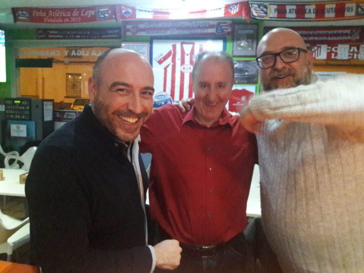 Estos también tienen sus años: Javi Palma, Paco Castillo y Alejandro Morales