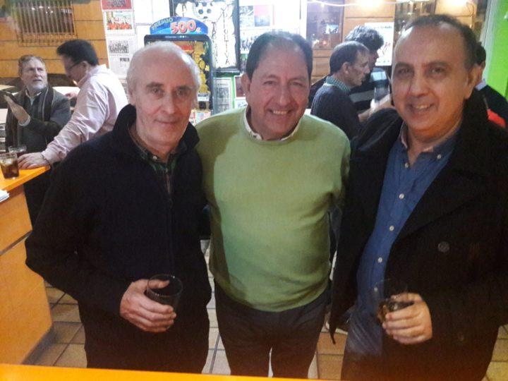 Va de veteranos: Gerardo Girón, Antonio Rodríguez y Pedro Lara