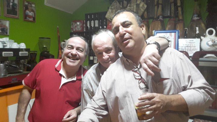 Paco y Manolo, líderes de la Taberna, y Quílez