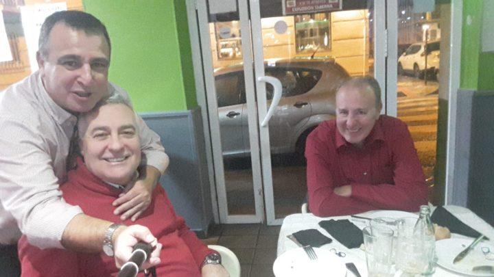 Pablo Quílez, Pedro Feixas y Paco Castillo