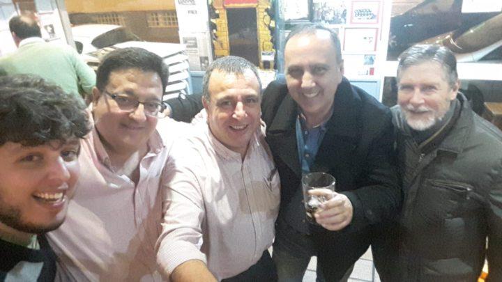 Juanjo Fernández, Pablo Quílez y Pedro Lara